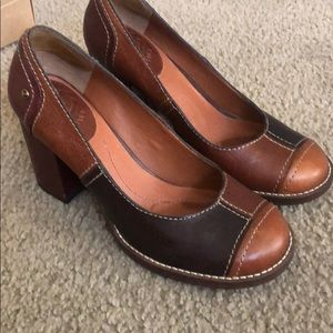 Lucky Brand Keene retro inspired pumps
